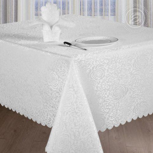 Набор столового белья Шантель белый