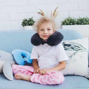 Подушка анатомическая детская Бананум детский