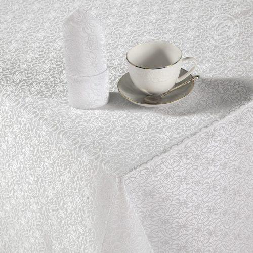 Набор столового белья Шарлотта белый