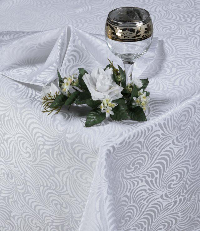 Набор столового белья Версаль белый