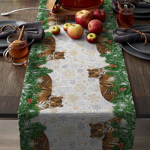 Дорожка на стол Эскобар, рогожка