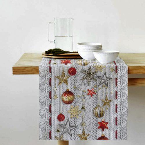Дорожка на стол Новогодняя звезда